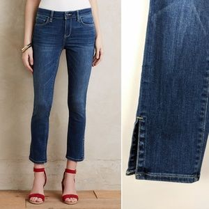 Anthro Pilcro and the Letterpress Stet Ankle Jeans